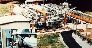 Braysorb solvent recovery system